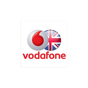 Vodafone UK - sim Top-up