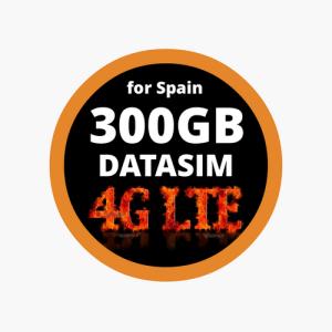 300GB Internet